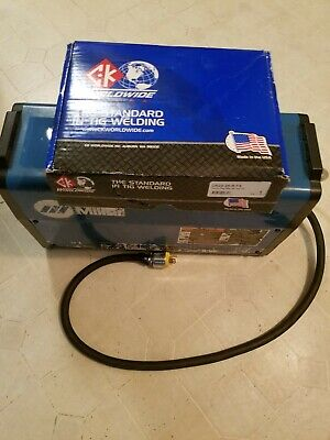 Miller Dynasty 200 AC/DC TIG/Stick Welder. With a brand new torch.