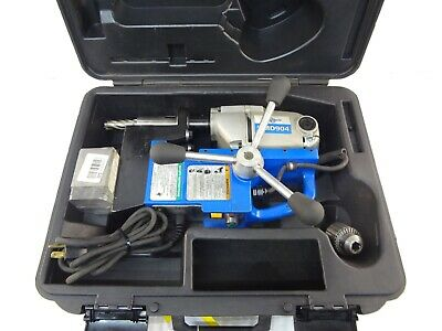 """Hougen HMD904 Magnetic Steel Fabrication Drill Press 1-1/2"""" x 2"""" Capacity Tool"""