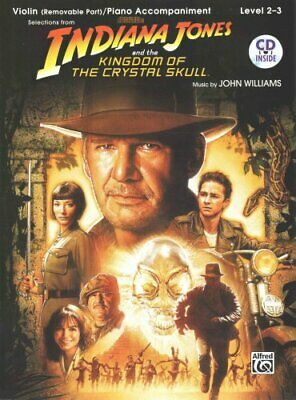 Indiana Jones and the Kingdom of the Crystal Skull Instrumental... 9780739056684