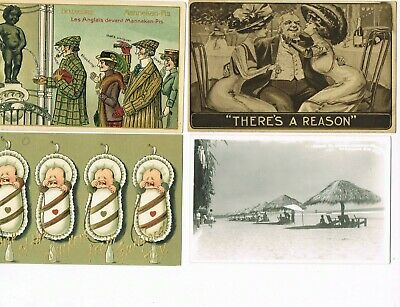 Lot of 50 ANTIQUE EARLY 1900s Postcards * REAL PHOTO * LOVE * CHILDREN * & MORE!