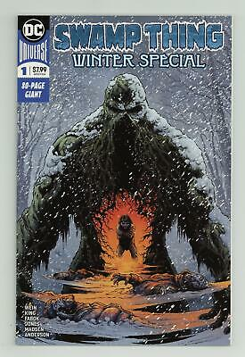 Swamp Thing Winter Special 1A 2018 Fabok Variant NM 9.4