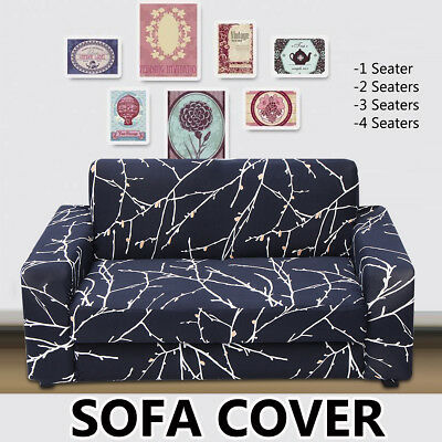 5 Styles Elastic Sofa Cover Soft Stretch Slipcover Settee Protector Couch