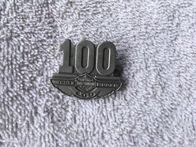 Harley Davidson 100th Shareholders Pin - Rarest of the 100th Anniversary Pins