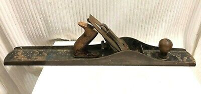 """Vtg Stanley No.8 Bailey Jointer Plane Made in USA Wood Working Smooth bottom 24"""""""
