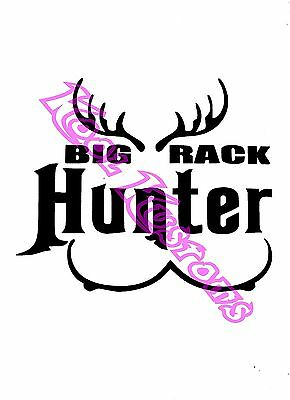 Bow Hunter Hunting Vinyl Sticker Decal Car-Truck Laptop-Netbook 1545