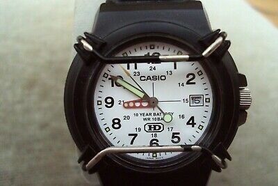 Mens Casio Sports Watch With 10 Year Battery Good Condition.