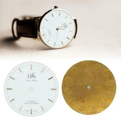 Watchmaker's 7120 Round Clocks Face Dial Watch Replacement Accessory 29cm/11.4in