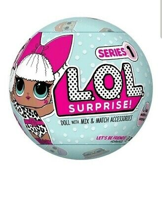 LOL Surprise Dolls Series 1 Wave 1 Brand New Sealed 100% Authentic