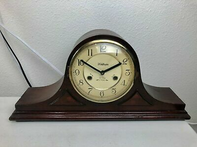 Waltham 31 Day Chime Mantle Clock with Key, Roman Numeral, Made in China