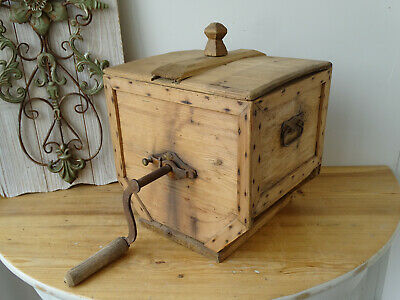 U3535 Butterfass ~ Buttermaschine ~ butter churn ~ um 1910 ~ RAR!!!