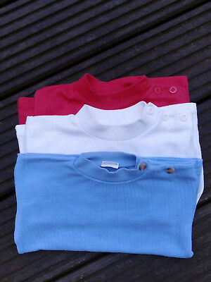 3 polos manches longues, taille18 mois.
