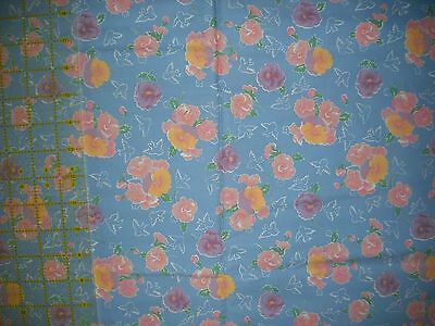In The Beginnings Fat 8ths & Friends Floral  QUILT FABRIC - 1  yds