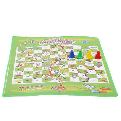 3D Snakes And Ladders Kids Board Game Childrens Traditional Family Toy DS