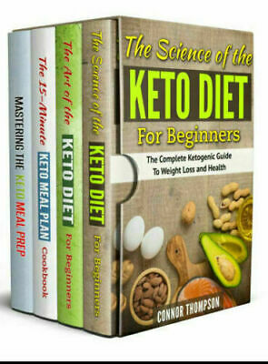 The Complete Keto Diet Plan for Beginners – 4 Book Set – EB00k Fast Delivery