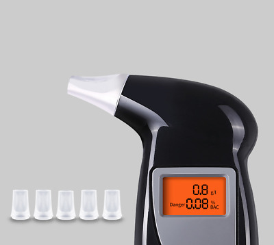 Led Luci Etilometro Digitale Tester Dell'alcol Breathalyzer Alcohol