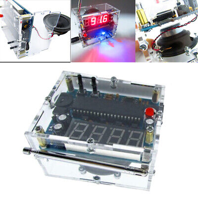 1pc new FM Radio Experiment Board DIY Kit Education Electronic Project 87-108MHZ