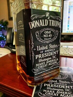 WHoLESALE LOT OF 20 TRUMP 2020 STICKERS Make America Great Again Whiskey 45 KEEP