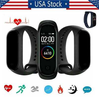 Newest Smart Bracelet BT 5.0 Armband Heart Rate Fitness Tracker English Version