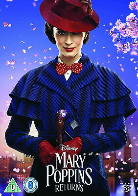 Mary Poppins Returns [DVD] [2018] [New DVD]
