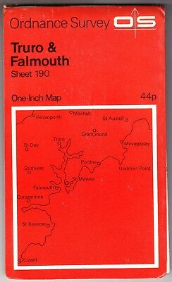 Ordnance Survey One Inch Map: Truro & Falmouth