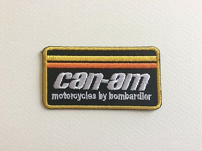 A173 // Ecusson Patch Aufnaher Toppa / Neuf / Can Am / 8*4 Cm