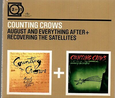 Counting Crows August And Everything After + Recovering The Satellites,2XCD ´ 09
