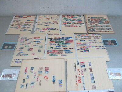Nystamps Italy old stamp collection stock page high value