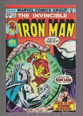 Iron Man # 75  Slave to the Power Imperious !  grade 9.0 scarce book !