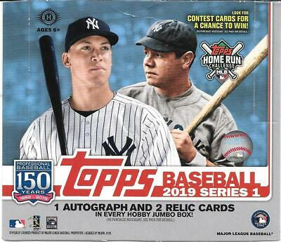 2019 Topps Series 1  Baseball..Pick 40 Cards to Finish Your Set!!!