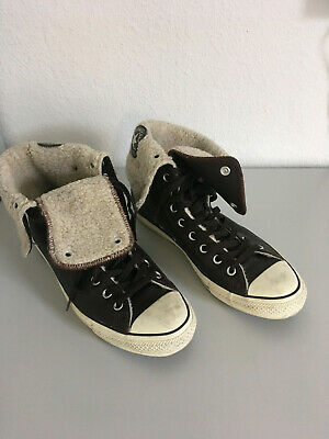 CONVERSE ALL STAR Wildleder chucks high Gr.39,dunkelbraun,gefüttert.