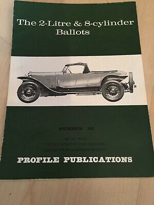 Profile Publications magazine Issue 93 featuring Ballot 2-litre & 8-cylinder