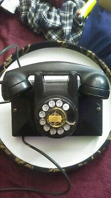 General electric wall mounting rottery dialing vintage phone