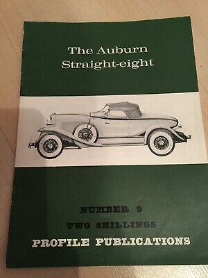 Profile Publications magazine Issue 9 featuring Auburn Straight-eight