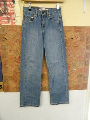 Red Tab Levi's 550 Relaxed Light Wash Denim Jeans - W23xL25 (DM238)