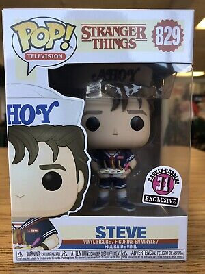 Funko Pop Stranger Things Steve Ahoy! Baskin-Robbins 31 Exclusive NEW #829
