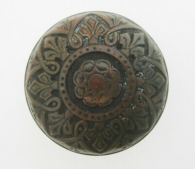 Original Antique Victorian Cast Bronze Aesthetic Era Door Knob Russell & Erwin