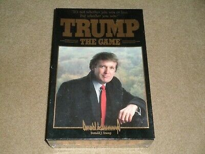 Sealed Trump The Game Donald Trump   ***Sealed***   1989 Issue