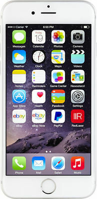 Apple iPhone 6 - 16GB - Silver (Unlocked) A1549 (CDMA + GSM)
