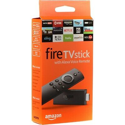 Amazon Fire TV Stick 2019 with All-New Alexa Voice Remote Streaming Media Player