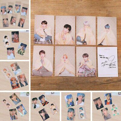 4/7PCS Kpop BTS Map Of The Soul: Persona Official Photocards JK V Mini Cards Hot