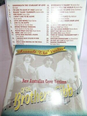 Brothers Gibb / Bee Gees - Assault The Vaults - Rare Cover Versions-Oz 31 Trk Cd
