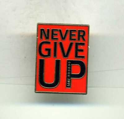 Black Never Give Up ******2019  Liverpool  Fc     Football Pin Badge