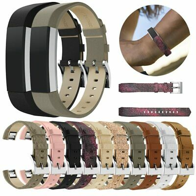 For Fitbit Alta / Alta HR Genuine Leather Watch Replacement Band Wrist Strap UK