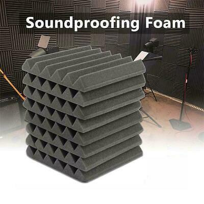 5Pcs Acoustic Wall Panels Sound Proofing Foam Pads Treatments Studio Tools G5V3