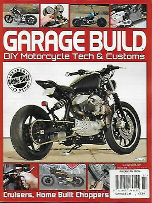 AMERICAN IRON GARAGE Issue 319 (NEW) *Post included to Europe/USA/Canada