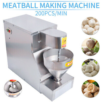 Stainless Steel Meatball Making Machine,Meatball Maker,20mm,25mm,30mm w/ 3 Molds