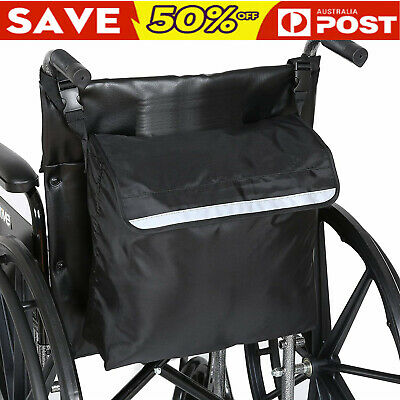 AU Wheelchair Storage Bag Fits Most Scooters, Walkers,Electric Wheelchairs