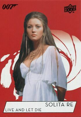 James Bond Collection SSP Base Card #177 Jane Seymour as Solitaire