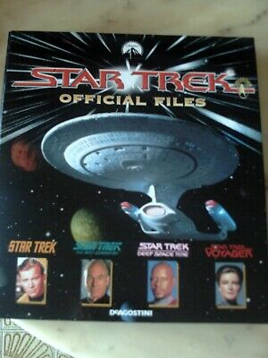 Star Trek Official Files opera completa in italiano,120 schede,8 raccoglitori