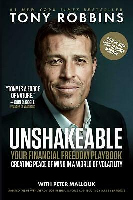 Unshakeable: Your Financial Freedom Playbook by Tony Robbins (English) Paperback
